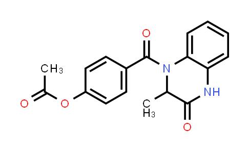 1009336-03-1 | 2(1H)-Quinoxalinone, 4-[4-(acetyloxy)benzoyl]-3,4-dihydro-3-methyl-