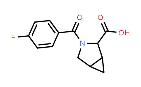 1009353-30-3 | 3-Azabicyclo[3.1.0]hexane-2-carboxylic acid, 3-(4-fluorobenzoyl)-