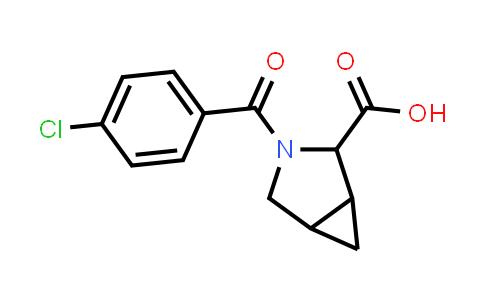 1009353-35-8 | 3-Azabicyclo[3.1.0]hexane-2-carboxylic acid, 3-(4-chlorobenzoyl)-