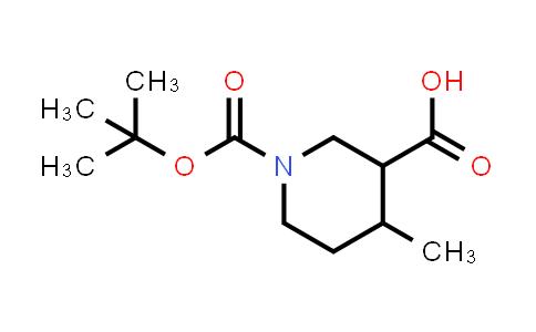1009376-52-6 | 1-(tert-Butoxycarbonyl)-4-methylpiperidine-3-carboxylic acid