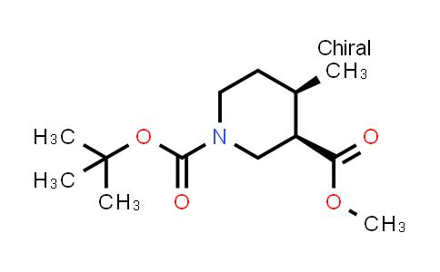 1009376-53-7 | 1-tert-Butyl 3-methyl (3R,4R)-rel-4-methylpiperidine-1,3-dicarboxylate