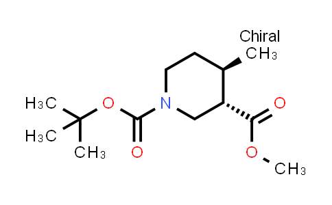 1009376-54-8 | 1-tert-Butyl 3-methyl (3S,4R)-rel-4-methylpiperidine-1,3-dicarboxylate