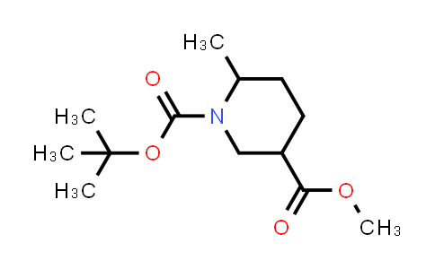 1009376-76-4 | rel-(1-tert-Butyl 3-methyl (3R,6S)-6-methylpiperidine-1,3-dicarboxylate)