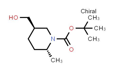 1009376-93-5 | tert-Butyl (2R,5R)-5-(hydroxymethyl)-2-methylpiperidine-1-carboxylate