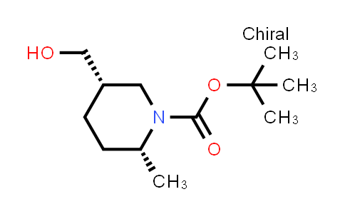 1009376-99-1 | tert-Butyl (2R,5S)-5-(hydroxymethyl)-2-methylpiperidine-1-carboxylate