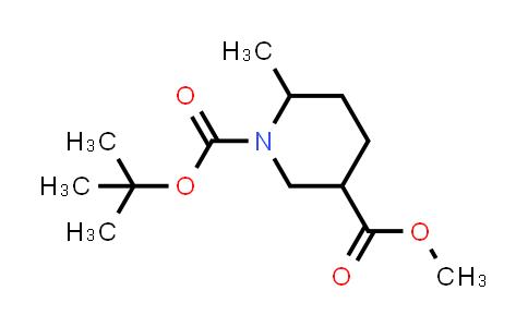 1009377-05-2 | (3R,6S)-1-tert-Butyl-3-methyl 6-methylpiperidine-1,3-dicarboxylate
