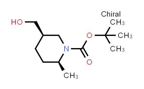 1009377-06-3 | tert-Butyl (2S,5R)-5-(hydroxymethyl)-2-methylpiperidine-1-carboxylate