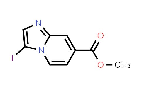 1009378-93-1 | Imidazo[1,2-a]pyridine-7-carboxylic acid, 3-iodo-, methyl ester
