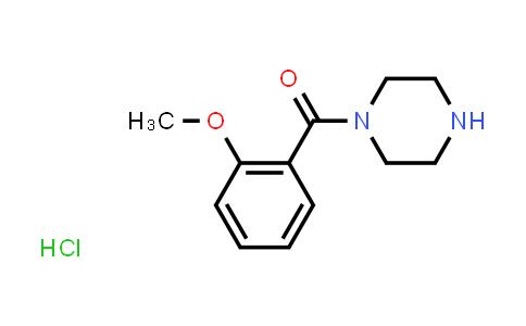 100939-98-8 | (2-Methoxyphenyl)(piperazin-1-yl)methanone hydrochloride