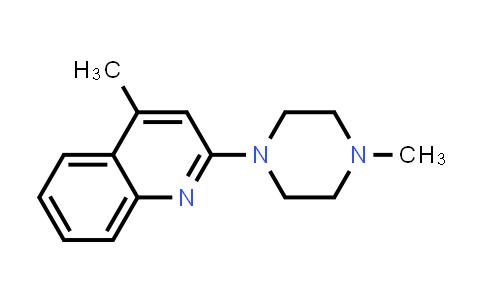 100949-89-1 | 4-Methyl-2-(4-methylpiperazin-1-yl)quinoline