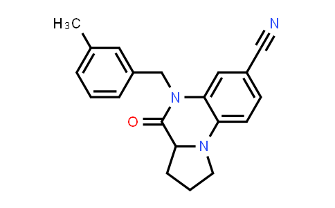1009499-24-4 | Pyrrolo[1,2-a]quinoxaline-7-carbonitrile, 1,2,3,3a,4,5-hexahydro-5-[(3-methylphenyl)methyl]-4-oxo-