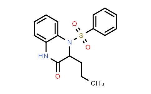 1009526-41-3 | 2(1H)-Quinoxalinone, 3,4-dihydro-4-(phenylsulfonyl)-3-propyl-
