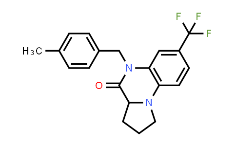 1009537-73-8 | yrrolo[1,2-a]quinoxalin-4(5H)-one, 1,2,3,3a-tetrahydro-5-[(4-methylphenyl)methyl]-7-(trifluoromethyl)-