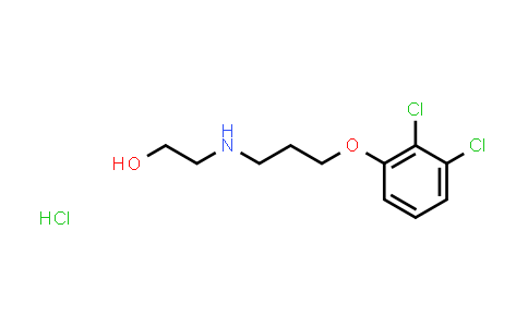 1009555-55-8 | Ethanol, 2-[[3-(2,3-dichlorophenoxy)propyl]amino]-, hydrochloride (1:1)