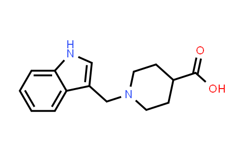 100957-76-4 | 4-Piperidinecarboxylic acid, 1-(1H-indol-3-ylmethyl)-