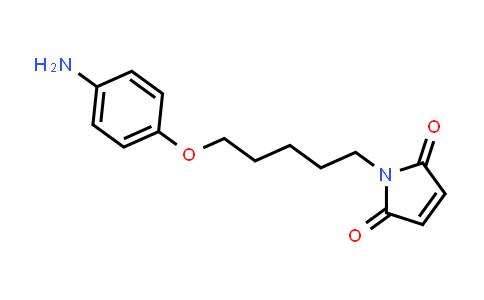 100958-17-6 | 1-(5-(4-Aminophenoxy)pentyl)-1H-pyrrole-2,5-dione