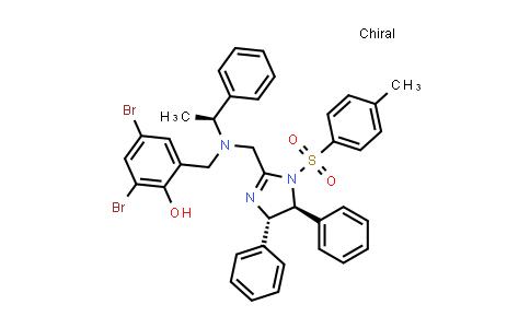 1009582-56-2 | 2,4-Dibromo-6-[[[[(4S,5S)-4,5-dihydro-4,5-diphenyl-1-tosyl-1H-imidazol-2-yl]methyl][(S)-1-phenylethyl]amino]methyl]phenol