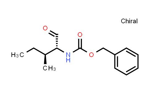 1009587-21-6 | Carbamic acid, N-[(1R,2S)-1-formyl-2-methylbutyl]-, phenylmethyl ester