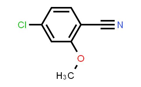 100960-68-7 | 4-Chloro-2-methoxybenzonitrile
