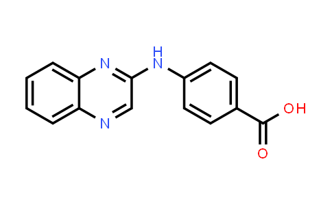 100962-02-5 | Benzoic acid, p-2-quinoxalinylamino-