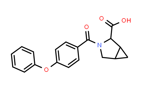 1009674-13-8 | 3-Azabicyclo[3.1.0]hexane-2-carboxylic acid, 3-(4-phenoxybenzoyl)-