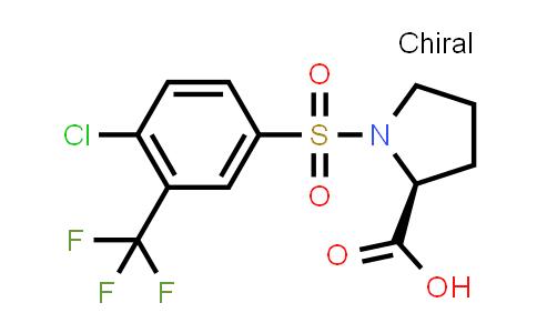 1009684-43-8 | ((4-Chloro-3-(trifluoromethyl)phenyl)sulfonyl)proline