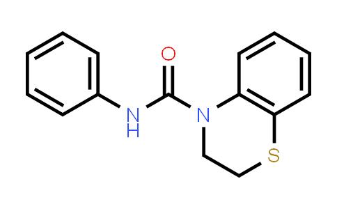 100969-16-2   4H-1,4-Benzothiazine-4-carboxamide, 2,3-dihydro-N-phenyl-
