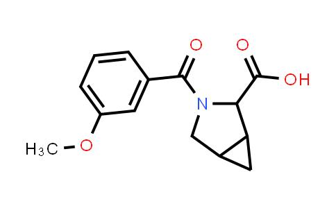 1009708-17-1 | 3-Azabicyclo[3.1.0]hexane-2-carboxylic acid, 3-(3-methoxybenzoyl)-