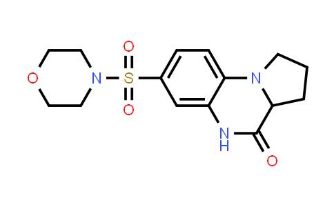 1009716-73-7 | Pyrrolo[1,2-a]quinoxalin-4(5H)-one, 1,2,3,3a-tetrahydro-7-(4-morpholinylsulfonyl)-