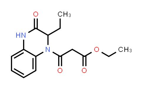 1009726-93-5 | 1(2H)-Quinoxalinepropanoic acid, 2-ethyl-3,4-dihydro-β,3-dioxo-, ethyl ester