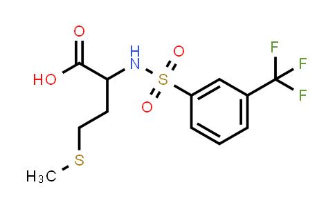 1009729-55-8   4-(Methylsulfanyl)-2-[3-(trifluoromethyl)benzenesulfonamido]butanoic acid