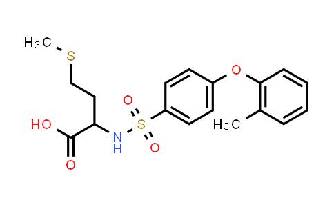 1009755-91-2 | 2-[4-(2-Methylphenoxy)benzenesulfonamido]-4-(methylsulfanyl)butanoic acid