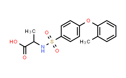 1009790-14-0 | 2-[[4-(2-Methylphenoxy)phenyl]sulfonylamino]propanoic acid