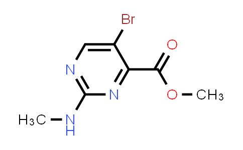 1009827-04-6 | 4-Pyrimidinecarboxylic acid, 5-bromo-2-(methylamino)-, methyl ester