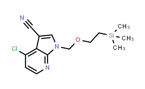 1009838-73-6 | 1H-Pyrrolo[2,3-b]pyridine-3-carbonitrile, 4-chloro-1-[[2-(trimethylsilyl)ethoxy]methyl]-