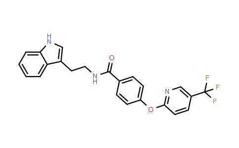 1009922-28-4 | Benzamide, N-[2-(1H-indol-3-yl)ethyl]-4-[[5-(trifluoromethyl)-2-pyridinyl]oxy]-