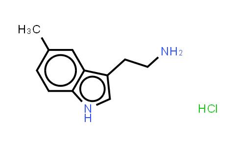 1010-95-3 | Hydron;2-(5-Methyl-1H-indol-3-yl)ethanamine;chloride