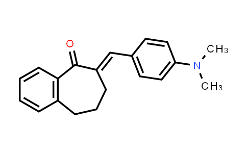 101001-12-1 | 5H-Benzocyclohepten-5-one, 6-[[4-(dimethylamino)phenyl]methylene]-6,7,8,9-tetrahydro-, (6E)-