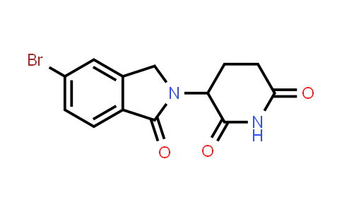 1010100-26-1 | 3-(5-Bromo-1-oxoisoindolin-2-yl)piperidine-2,6-dione