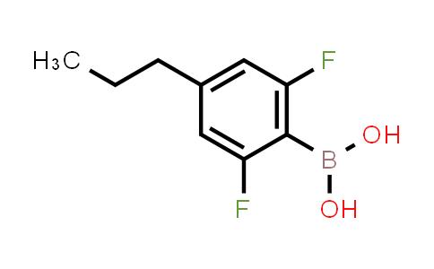 1010110-74-3 | (2,6-Difluoro-4-propylphenyl)boronic acid