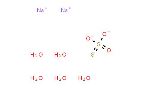 10102-17-7   Sodium thiosulfate (pentahydrate)