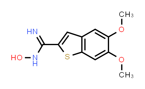 101041-94-5 | N-Hydroxy-5,6-dimethoxybenzo[b]thiophene-2-carboximidamide