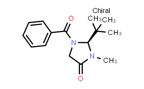 101055-56-5 | 4-Imidazolidinone, 1-benzoyl-2-(1,1-dimethylethyl)-3-methyl-, (2S)-