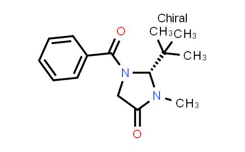 101055-57-6 | 4-Imidazolidinone, 1-benzoyl-2-(1,1-dimethylethyl)-3-methyl-, (2R)-