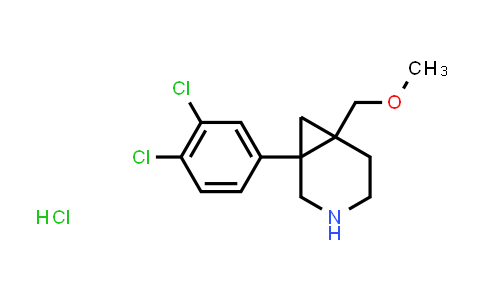 1010685-04-7 | 1-(3,4-dichlorophenyl)-6-(methoxymethyl)-3-azabicyclo[4.1.0]heptane hydrochloride