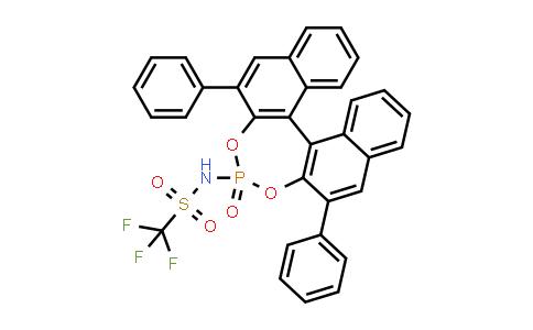 1010799-98-0 | 1,1,1-Trifluoro-N-[(11bR)-4-oxido-2,6-diphenyldinaphtho[2,1-d:1',2'-f][1,3,2]dioxaphosphepin-4-yl]methanesulfonamide