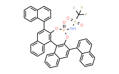 1010800-00-6 | N-[(11bR)-2,6-Di-1-naphthalenyl-4-oxidodinaphtho[2,1-d:1',2'-f][1,3,2]dioxaphosphepin-4-yl]-1,1,1-trifluoromethanesulfonamide