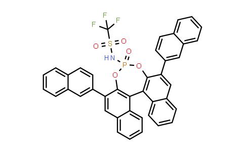 1010800-01-7 | N-[(11bR)-2,6-Di-2-naphthalenyl-4-oxidodinaphtho[2,1-d:1',2'-f][1,3,2]dioxaphosphepin-4-yl]-1,1,1-trifluoromethanesulfonamide