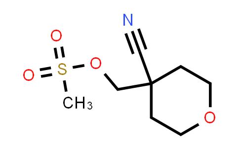 1010836-59-5 | (4-Cyanotetrahydro-2H-pyran-4-yl)methyl methanesulfonate