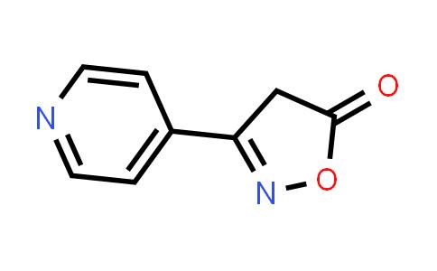 101084-52-0 | 3-(Pyridin-4-yl)isoxazol-5(4H)-one